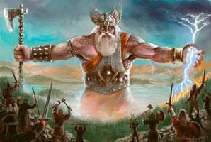 Перун Славянский Бог