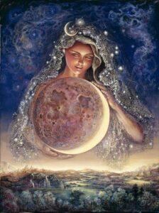 Богиня Луны Дивия