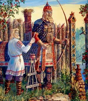 Китоврас - Бог мудрости и смелости