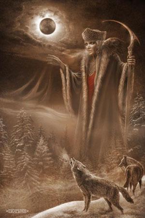 Марена Богиня Славян